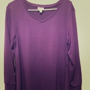 EUC. Small Lularoe Elizabeth. *Purple*